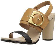 Oferta: 66.99€. Comprar Ofertas de Calvin Klein Aliya Smooth Mujer US 8 Beis Sandalia barato. ¡Mira las ofertas!