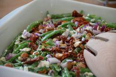 twin-food.dk salat-med-hytteost-gronnebonner-soltorrede-tomater-og-mandler