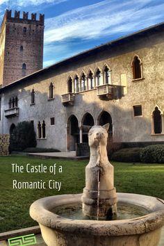 The castle of a romantic city Verona
