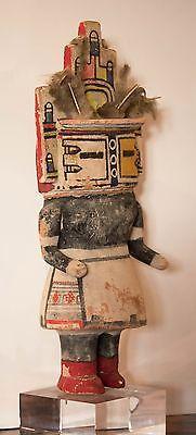 """Early 20th Century Hopi Hemis Kachina Katsina Doll 15"""" Tall"""