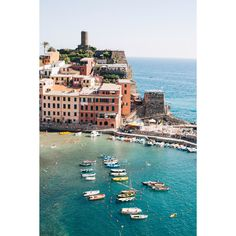 """Taken on a hike between the towns of Montorossa and Vernazza, Ariana Clare captures the stunning Italian coast in Cinque Terre. Dimensions: 8"""" x 12"""", 11"""" x 14"""", 16"""" x 24"""" Materials: Fine art photograp"""