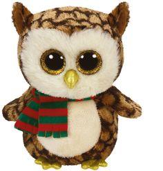 Ty Beanie Boo Glubschi Eule mit Schal namens Wise ;-)  findet man bei leolienchen-design