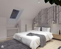 Sypialnia na poddaszu - zdjęcie od BDWstudio