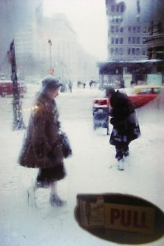 Saul Leiter photography. I love his style!
