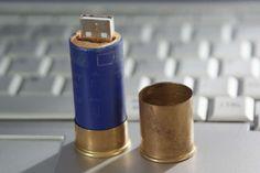 Ha! Shotgun Shell USB Stick Case