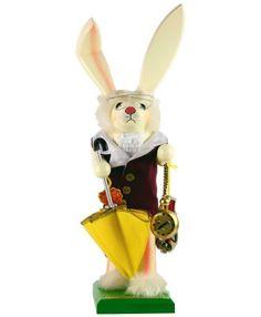 Steinbach Alice's White Rabbit Nutcracker