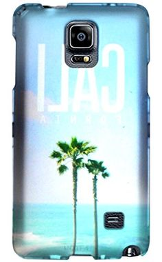 "myLife Sky Blue + Ocean Turquoise California Palm Trees {Scenic, Girly, Beautiful} 2 Piece Snap-On Rubberized Protective Faceplate Case for the Samsung Galaxy Note 4 ""All Ports Accessible"" myLife Brand Products http://www.amazon.com/dp/B00U7W9MQE/ref=cm_sw_r_pi_dp_yTyhvb1AGXGZD"