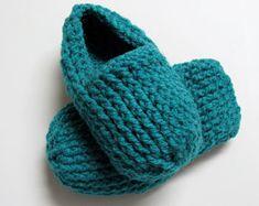 PATRON PDF no 22 Pantoufles au crochet femmes, français, anglais, par 3petitesmailles, chaussons