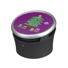 Christmas Tree & Presents Bumpster Speaker by #MoonDreamsMusic #BumpsterSpeaker #ChristmasTree