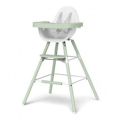 Childwood Evolu Transforming High Chair - White/Almond Awards : Innovation Kind Jugend 2013 award winner, Baby Innovation 2015 award winner * 3 in 1: high chair for a standard table, high chair for a kitchen island or bar and low childs chair * Details :  http://www.MightGet.com/january-2017-13/childwood-evolu-transforming-high-chair--white-almond.asp