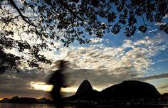 Amanhecer no Rio de Janeiro