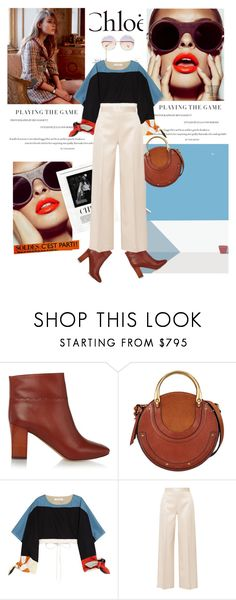 """""""Mechanic goat"""" by blackfresa ❤ liked on Polyvore featuring Chloé and The Row"""