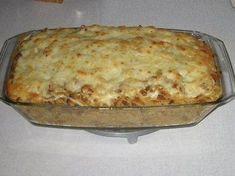 Darálthúsos tészta Lasagna, Pizza, Cheese, Ethnic Recipes, Food, Essen, Meals, Yemek, Lasagne