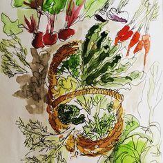 Veggie picking by cindy phelan