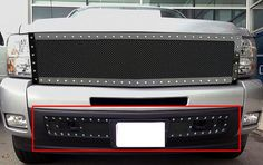 Chevy Silverado 1500 Lower Bumper Rivet Grille,,Grilles & Grille Guards Products,Vehicles & Parts Products Chevy Silverado 1500, Trucks, Amp, Vehicles, Accessories, Products, Truck, Rolling Stock, Vehicle