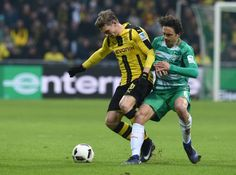 Piszczek rescues Dortmund at 10-man Bremen   Berlin (AFP)  Lukasz Piszczek saved Borussia Dortmunds blushes with the winner in a 2-1 victory at 10-man Werder Bremen on Saturday to lift them up to fourth in the Bundesliga.  A Dortmund side missing predator Pierre-Emerick Aubameyang trail leaders Bayern Munich by 12 points but climbed up from sixth with their first league win since the start of December.  We missed the chance to go 2-0 up in the opening quarter of an hour and then lost control…