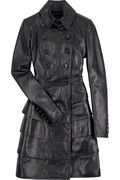 Burberry Prorsum Tiered leather trench $5,995