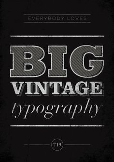 111. big vintage typography (by S719)