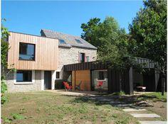 Extension à Vannes (France) - Architecte : SARL FABIENNE BRIQUET