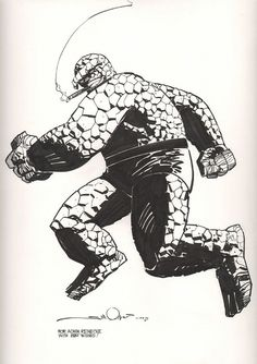 Thing by Walt Simonson by giantsizegeek, via Flickr