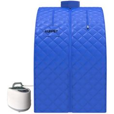 Portable Steam Sauna, Folded Up, Wood Species, Foot Rest, Full Body, Glow, Spa, Stress, Weight Loss