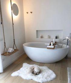 Das Badezimmer ist eines der wichtigsten Zimmer accessoire one Bath The bathroom is one of the main room accessory one bath important Bad Inspiration, Bathroom Inspiration, Interior Inspiration, Bathroom Goals, Small Bathroom, Wc Bathroom, Bathroom Ideas, Remodel Bathroom, Bathroom Organization
