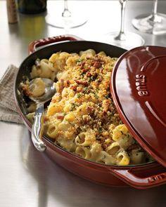 Staub Oval Gratin Baking Dish with Lid