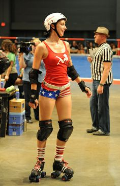 TXRD Lonestar Roller Derby Girl - Trucker flap... found on a strangers derby board and makes me proud to train with TXRD peeps.