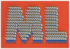 "Thomas Bayrle, ""ML (Marxist Leninist Cowboys)"", 1968/2009"
