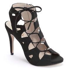 Rock & Republic® Women's Lace-Up Ghillie Heels