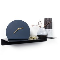 The Fold Ledge - looks great however you display it: in a set of three, off-set or singly. Ideal as a stylish shelving unit or bedside table. Inspiration has be Kiosk Design, Small Toilet, Storage, Powder Rooms, Bathroom Ideas, Black, Design Ideas, Coffee, Small Shower Room
