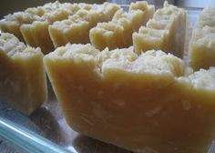 Easy Homesteading: Homemade Shampoo Bar Soap Recipe