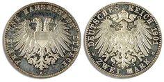 1901, 2 Mark Lübeck, berührte PP.