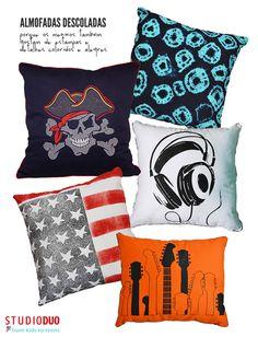 Fun pillows. #decor #details #pillow #interior #design