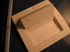 Creaties van Daatje: werkwijze schuifkaart