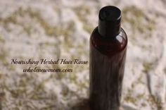 Healthy Hair Vinegar Rinses DIY Recipe. A good herbal hair rinse use will probably:  * remove build up of hair products and other toxins so your cuticles are healthier  * close cuticles so your hair slides more easily and you get fewer tangles  * improve circulation to your scalp  * retain a good pH balance  * help with hair conditions like hair loss, dry scalp, dandruff, and more