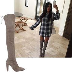 Shop the best fashion Instagrams of the week: Kourtney Kardashian's over-the-knee boots