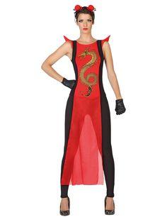 Transformez-vous en ninja le temps d'une soirée déguisée en portant cette combinaison et ce serre-tête.