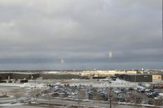 View from our 6th floor room, Canad Inns Destination Centre Club Regent Casino Hotel  |  1415 Re