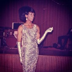 Vintage Photo 1960s African American Drag Queen | Flickr - Photo Sharing!