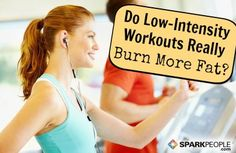 The Truth about the 'Fat-Burning Zone' and Weight Loss | via @SparkPeople #fitness #exercise #diet #workout
