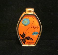 1920s Paris Vivaudou Powder Tin Talcum Powder by PowerOfOneDesigns