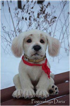 Puppy Labrador By Pogorelaya Daria - Bear Pile