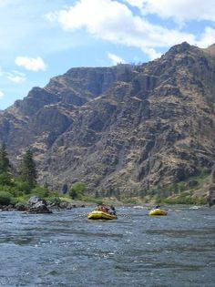 "Hells Canyon National Recreation Area. Described by many as ""Gods Country"".  Try the class 5 rapids in a jet boat, raft down the calmer parts of the river, fish, and enjoy the sunshine and history of the area."