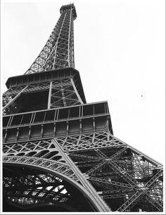 LA TOUR EFFIEL fine art black and white photo by KhristianAHowell, $22.00