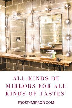 Custom made mirror art for home decor. A perfect gift for an art lover. Mirror Art, Glass Design, Lovers Art, Home Art, Interior Design, Gift, Home Decor, Nest Design, Decoration Home