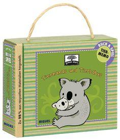 Green Start Buch- & Memo-Set Tiermamas & Tierbabies