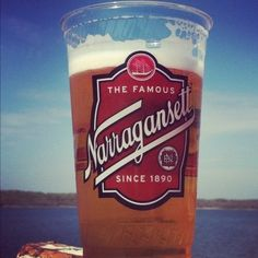 Narragansett Lager Beer - just as good as it used to be when it was brewed in Cranston!