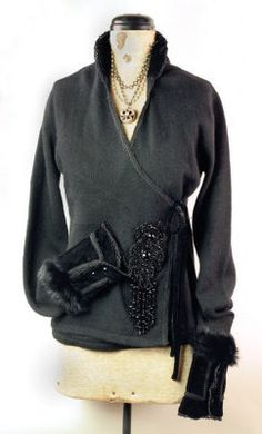 heiress angora sweater
