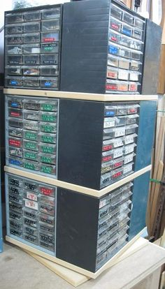 Rotating hardware storage